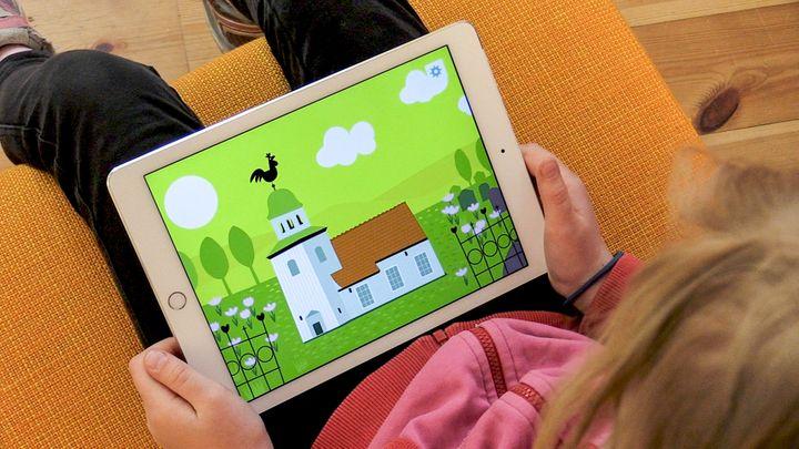 Svenska kyrkan släpper en app för barnen